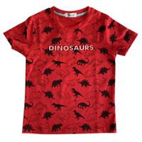 Dinosaurus Full Printed Boy T-Shirt - MOEJOE / Kaos Anak Laki-laki