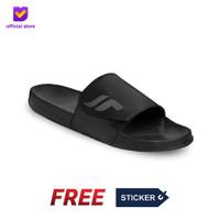 Sandal Slide Pria Footstep Footwear - Nexa Grey