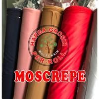 multi kain moscrepe moscrep mosscrepe crepe lembut roll per 50 yard