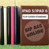 FLIP COVER STANDING IPAD 5 / IPAD 6 LEATHER CASE FLIP COVER