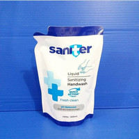 Saniter sabun cuci tangan 400ml