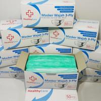 Masker 3 ply 50 pc Non Medical izin Kemenkes RI