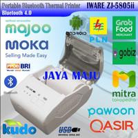 MINI PRINTER KASIR THERMAL BLUETOOTH IWARE ZJ-5805ii RPP02N MOKAPOS