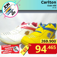 Carlton Club X33 Sepatu Badminton Tenis Meja [Size 37-45]