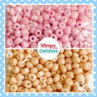 Manik Pasir Bulat 6 Bahan Aksesoris Payet Gelang Kalung Beads