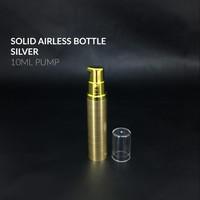 Botol Airless Pump 10 ML / Botol Serum 10 ML Airless Pump Gold