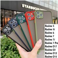 Realme 5 5i 6 7i 7 Pro C17 Softcase Mate Case Aero Full Camera Casing