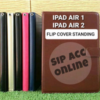 FLIP COVER STANDING IPAD Air 1 / IPAD Air 2 LEATHER CASE FLIP COVER