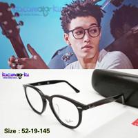 Kacamata Minus Pria Casual Hexagonal 715 Premium