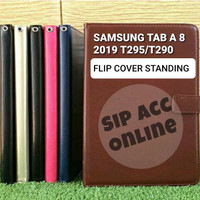 FLIP COVER STANDING SAMSUNG TAB A8 2019 T295 LEATHER CASE FLIP COVER
