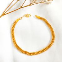 Gelang Wanita Tali Holo Rantai Cantik cocok jadi Hadiah Bracelet Gold