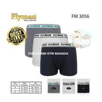 Celana Dalam Boxer Pria Dewasa FM 3056 Flyman Modal Lembut Ori