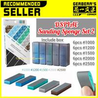 DSPIAE Sanding Sponge Set 2 Amplas Gundam Model Kit Original