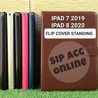 FLIP COVER STANDING IPAD 7 2019 / IPAD 8 2020 LEATHER CASE FLIP COVER