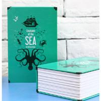 LemonBest Kotak Buku Novel Colorful Safety Box Hidden Storage - DHZ001