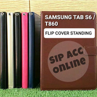 FLIP COVER STANDING SAMSUNG TAB S6 T860 LEATHER CASE FLIP COVER