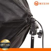 MIXIO A1 Paket Studio Foto Light Stand 2M + 1 Socket E27 + Softbox