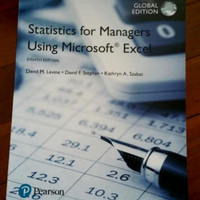 termurah statistics for managers using Microsoft Excel eighth edition