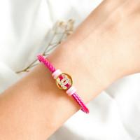 Gelang Channel Bulat wanita elegan Bracelet Jewellery sebagai Hadiah