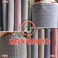 multi kain kotak salur cotton katun basic roll per 50 yard warna tua