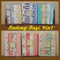 Selimut Bedong Bayi 4in1 Carter / Kolaco / Just One You / Baby Of Mine