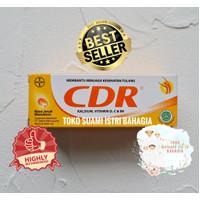 Vitamin C CDR D B6 dan Kalsium Jeruk Mandarin Effervescent BPOM MUI
