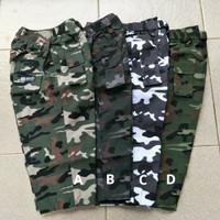 Sirwal boxer / celana pangsi motif loreng anak