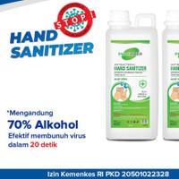 hand sanitizer purelizer 1 liter murah