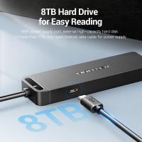 Usb HUB Vention 4 Port Usb 3.0 2.0 High Speed Power Adapter OTG