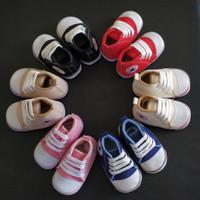 Prewalker Sepatu Bayi laki laki perempuan usia 2-15 bulan nyaman - Hitam, 2-6 bulan