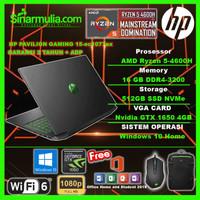 HP PAVILION GAMING 15 Ryzen 5 4600H 512 GB 16GB GTX 1650 144Hz W10+OHS
