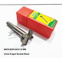 Mata Bor Kayu 35 mm Untuk Lubang Engsel sendok