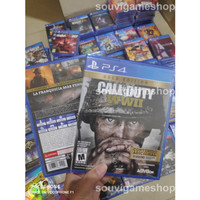 PS4 CALL OF DUTY WORLD WAR II / WWII / WW 2 GOLD EDT CD GAMES BD PS 4