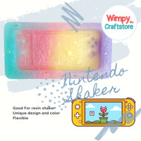 Silicone Mold Nintendo Switch Shaker Resin Cetakan Resin Clay Wimpy 7