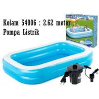 📢Mainan Kolam Renang Besar Mainan Air Anak Dewasa Pompa Listrik Lem