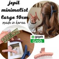 jepit minimalistic korea/ jepit besar made in korea
