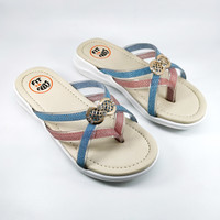 Sandal Anak Perempuan Fit To Feet Remata - Pink Comb Blue