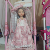 Boneka Paola Reina Carol set dress bandana cantik