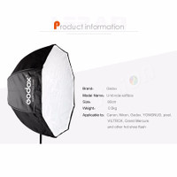 Godox Umbrella Softbox 80cm Lighting Flash Studio Continuous Light Lam