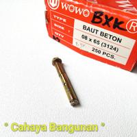 Baut Beton Tembok Dinabol Dinabold Dynabold Dynabolt 8mm 8x65 7 Cm 7Cm