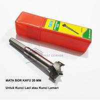 Mata Bor Kayu 20 mm Untuk Lubang Kunci Laci atau Lemari Hole Saw