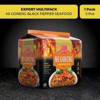 Best Wok Mi Goreng Blackpepper Seafood 5 pcs (Export Multipack)
