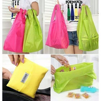Tas Belanja baggu Serbaguna Foldable Shopping Bag Warna ECO bag Warna