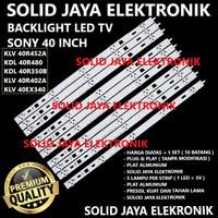 BACKLIGHT TV SONY 40 INC KLV 40R452 40R452A KLV40R452 LAMPU BL LED IN