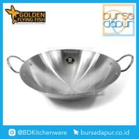 Golden Flying Fish Wajan Harden Stainless Steel 30 cm (WJ0230B) /Kuali