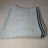 Uniqlo Training Pants Grey Strip Navy L 219