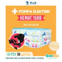 Doctor Dolphin / Kolam Renang Anak / Kolam Renang Persegi / Kolam Spa - Ocean 150, Kolam + Pompa