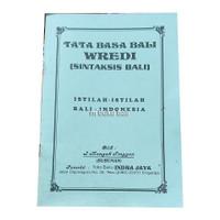 Tata Basa Bali Wredi Sintaksis Bali Istilah-istilah Bali-Indonesia