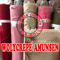 multi kain wollycrepe wolly woli crepe wolicrepe roll per 50 yard