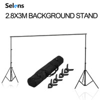 Bracket Stand 280x300CM Backdrop Tiang Stand Background Foto Studio